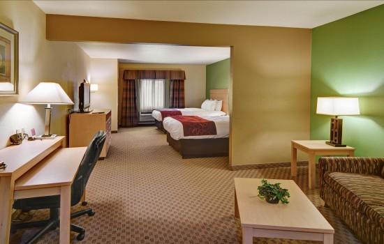 Accessible 2 Queen Bed Guest Room